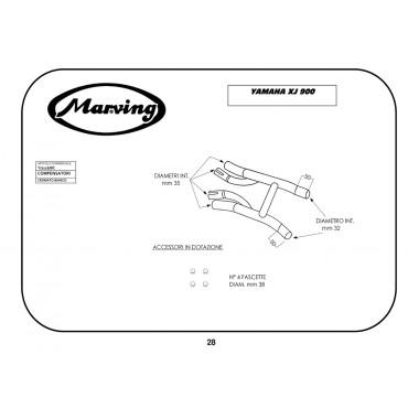 Marving Y/2116/BC Yamaha Xj 900