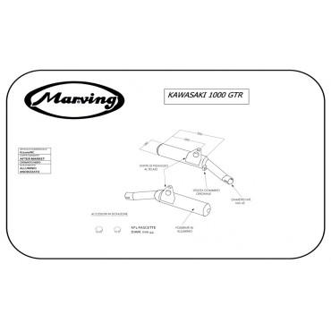 Marving K/2100/NC Kawasaki Z 1000 Gtr