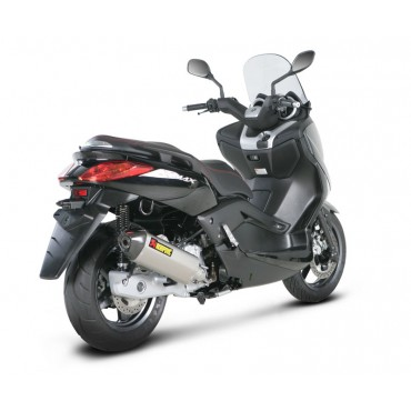 motorrad auspuff akrapovic yamaha x max 125 s y125so3 hrss. Black Bedroom Furniture Sets. Home Design Ideas