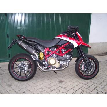 Exan Ducati Hypermotard 796 Ovale Carbon Cap