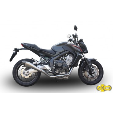 Exan Honda CB 650 F X-Black EVO