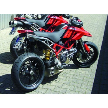 QD Exhaust Ex-Box Ducati Hypermotard 796 1100