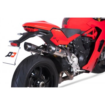 QD Exhaust Ducati SuperSport 939 Twin Gunshot