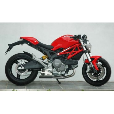 QD Exhaust Ex-Box Ducati Monster 696 796 1100