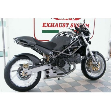 QD Exhaust Ex-Box Ducati Monster S4