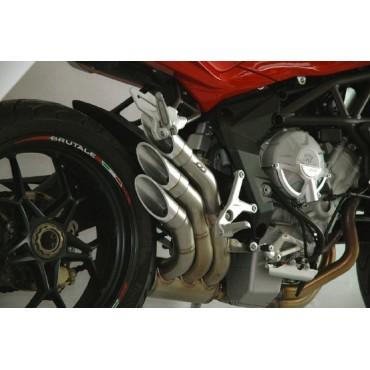 Qd Exhaust MV Agusta Rivale 800