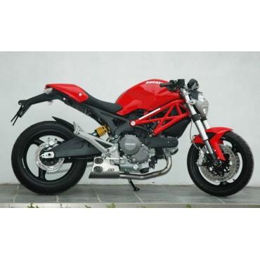QD Exhaust Ex-Box Ducati Monster 1100 Evo
