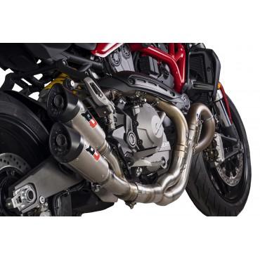 QD Exhaust Ducati Monster 821 Twin Gunshot
