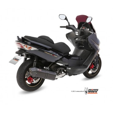 Mivv Speed Edge Black Kymco Xciting 500