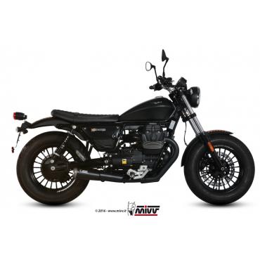 Mivv Ghibli Black Moto Guzzi V9 Bobber / Roamer