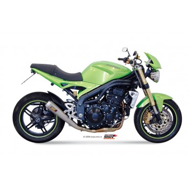 Mivv X-cone Plus Triumph Speed Triple
