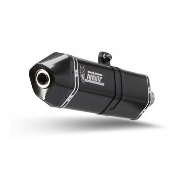 Mivv Speed Edge Black Kymco AK 550