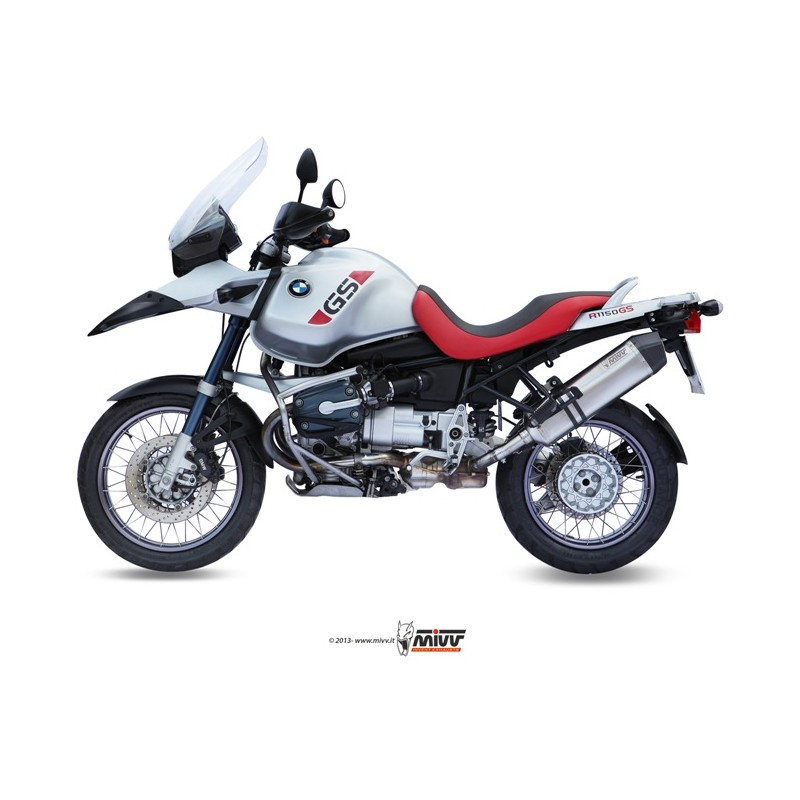 Exhaust Moto Mivv Speed Edge Bmw R 1150 Gs B 015 Lrx