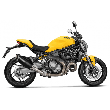 Akrapovic Ducati Monster 821 S-D12SO8-RTBL