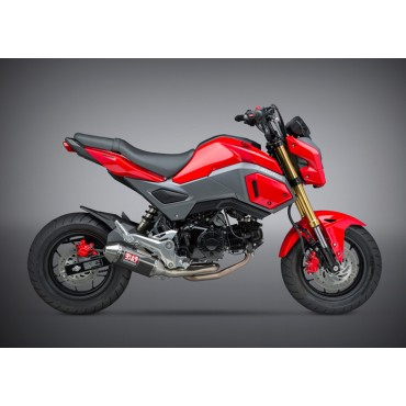Echappement Moto Yoshimura Honda GROM Race Mini RS-2 SS-CF-SS Works Finish