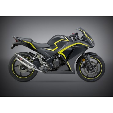 Echappement Moto Yoshimura Honda CBR 300R/CB 300F Race R-77