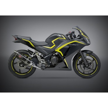 Exhaust Moto Yoshimura Honda CBR 300R/CB 300F Race R-77