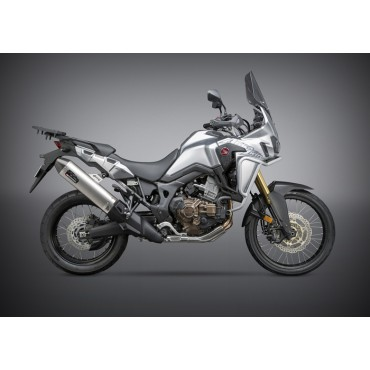 Echappement Moto Yoshimura Honda Africa Twin Street RS-4 Works Finish