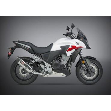 Motorrad Auspuff Yoshimura Honda CB 500X Street R-77