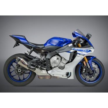 Exhaust Moto Yoshimura Yamaha YZF-R1/M/S Street ALPHA T Works Finish