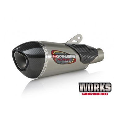 Exhaust Moto Yoshimura Yamaha YZF-R1/M/S Race ALPHA T 3QTR Works Finish