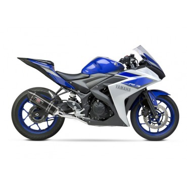 Motorrad Auspuff Yoshimura Yamaha YZF-R3 Race R-77