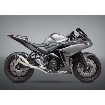 Exhaust Moto Yoshimura Yamaha YZF-R3 Race ALPHA T Works Finish