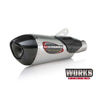 Exhaust Moto Yoshimura Yamaha YZF-R6 Street ALPHA T Works Finish