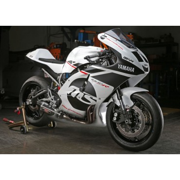 Exhaust Moto Yoshimura Yamaha FZ-07 Race R-77 Works Finish