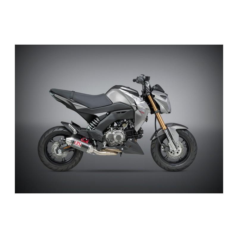Echappement Moto Yoshimura Kawasaki Z 125 Pro Race Rs 2 Works Finish