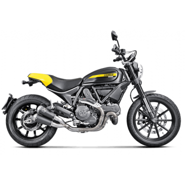 Akrapovic Ducati Scrambler S-D8SO4-CUBTBL
