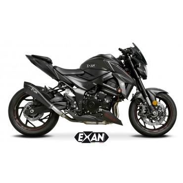 Exan Suzuki GSX S 750 X-Black EVO