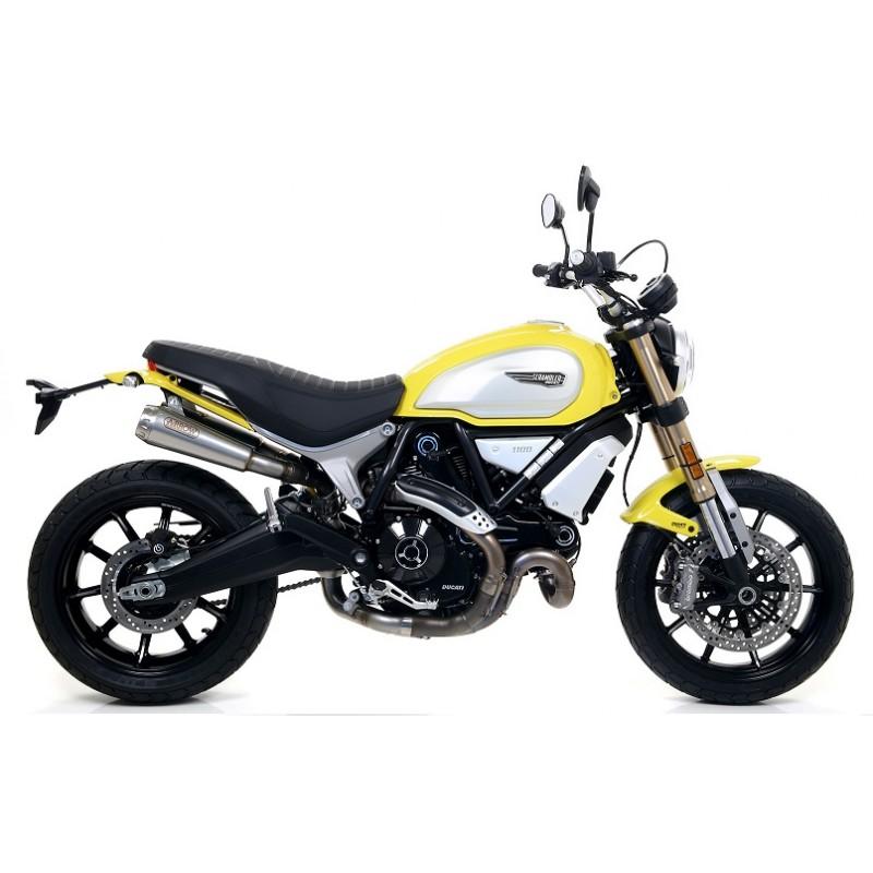 Exhaust Moto Arrow Ducati Scrambler 1100 71884pr 71884pri