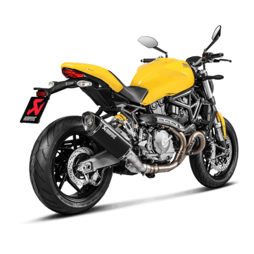 Akrapovic Ducati Monster 821 S-D12SO8-RTBL + E-D12E1/1