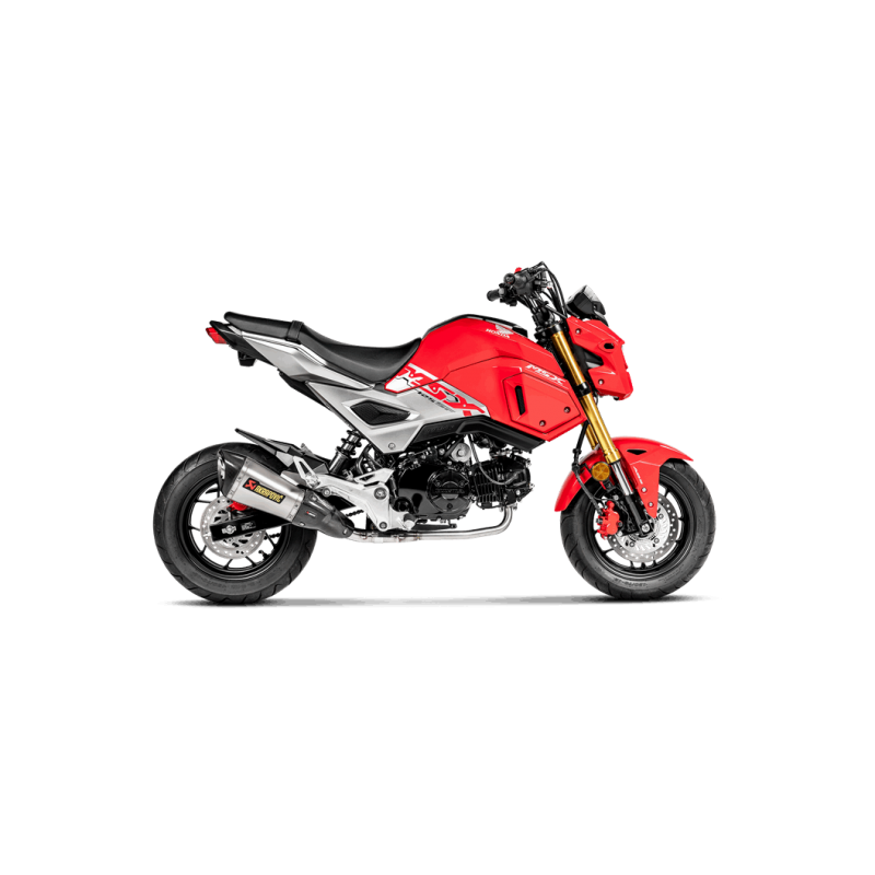 motorrad auspuff akrapovic honda msx 125 grom s h125r6. Black Bedroom Furniture Sets. Home Design Ideas
