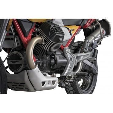 QD Exhaust Exhaust Eliminateur de Catalyseur Moto Guzzi V85 TT