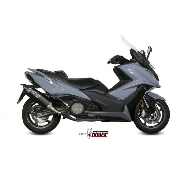 Mivv Speed Edge Black Kymco AK 550