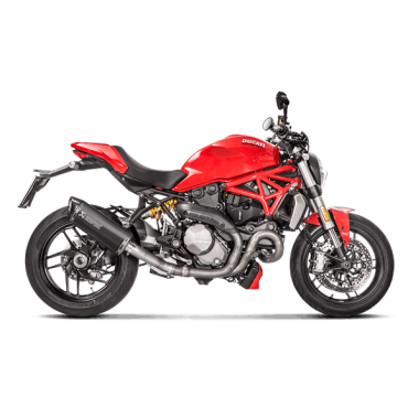 Akrapovic Ducati Monster 1200/1200S S-D12SO8-RTBL