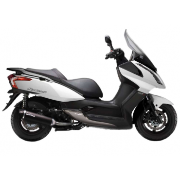 Leovince Kymco Downtown 125 Nero