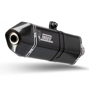 Mivv Speed Edge Black Moto Guzzi V85 TT