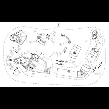 Akrapovic Yamaha Tracer 700 S-Y7R8-HEGEHT