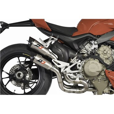 QD Exhaust Ducati StreetFighter V4 Twin Gunshot