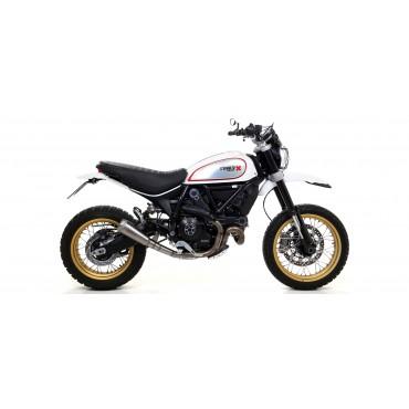 Arrow Exhaust Ducati Scrambler Desert Sled
