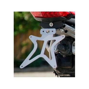 Hp Corse Support de Plaque Acier Inox Ducati Hypermotard 796 1100